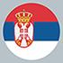 Serbien (Flag)