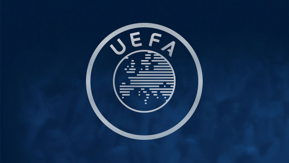 Mr Čeferin makes his opening address to the UEFA Congress