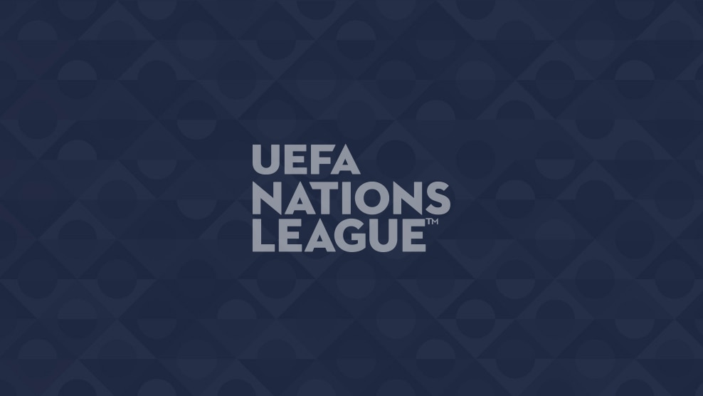Le trophée de l'UEFA Nations League